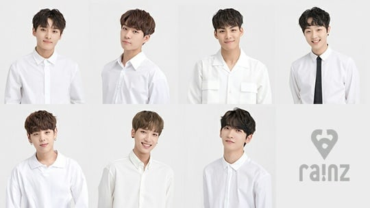 """Upcoming """"Produce 101 Season 2"""" Project Group RAINZ Opens Official Fan Cafe"""