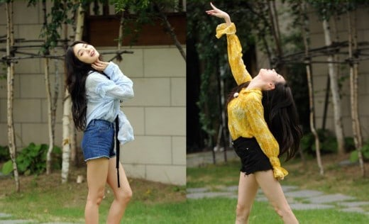 """Sunmi And Hwang Seung Eon Have A Sexy Dance Battle In New """"Running Man"""" Stills"""