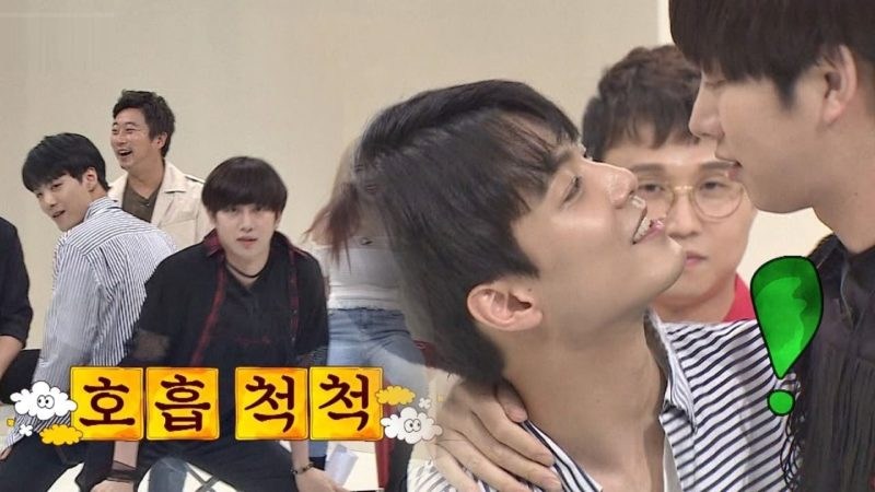 Watch: NUESTs JR And Super Juniors Heechul Show Chemistry In A Couple Dance