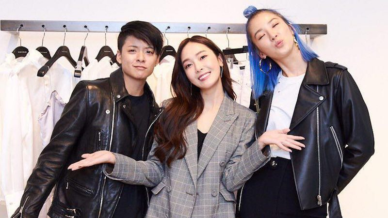 f(x)s Amber And Model Irene Kim Show Support For Jessica At BLANC ECLARE Event In New York