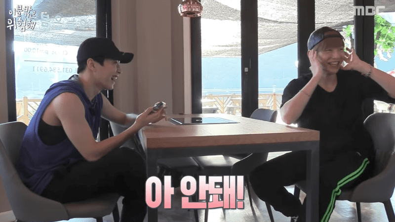 Watch: Kang Daniel Doesnt Know What To Do With Himself When Xiumin Sees His Old Performances