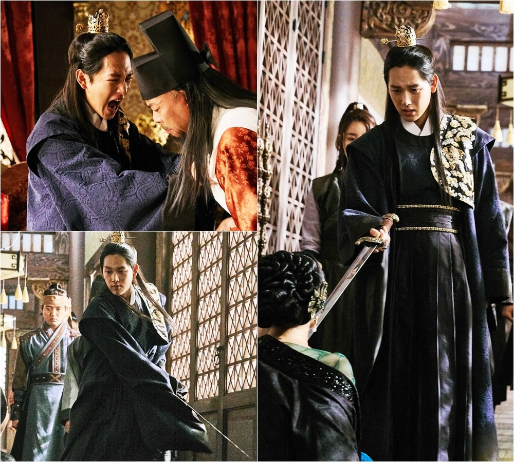 "Im Si Wan Goes On A Violent Rampage In New Stills For ""The King Loves"""