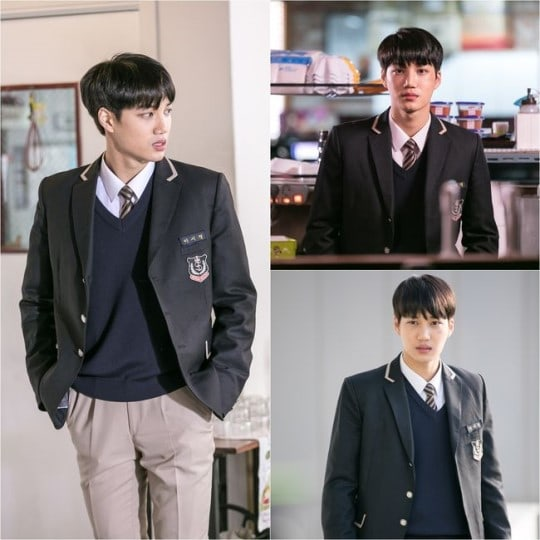 "EXO's Kai Transforms Into A Rebellious High Schooler In New Stills For ""Andante"""