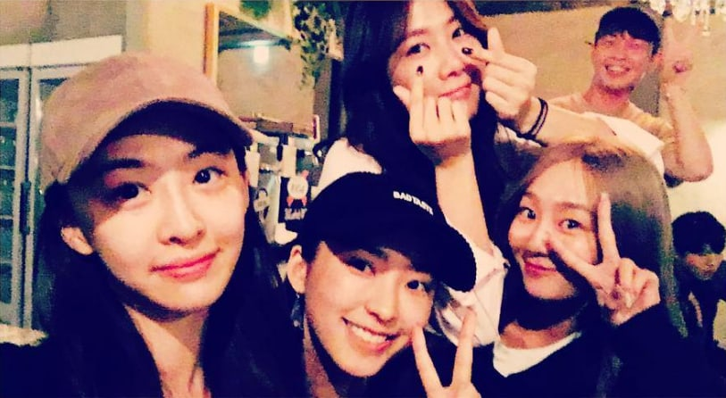 Former SISTAR Members Get Together For A Sweet Reunion
