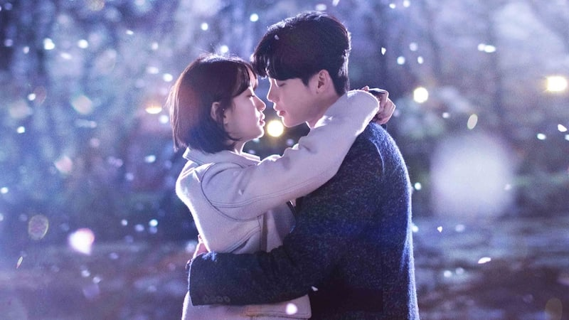 """While You Were Sleeping"" Unveils Romantic Main Poster Of Suzy And Lee Jong Suk"