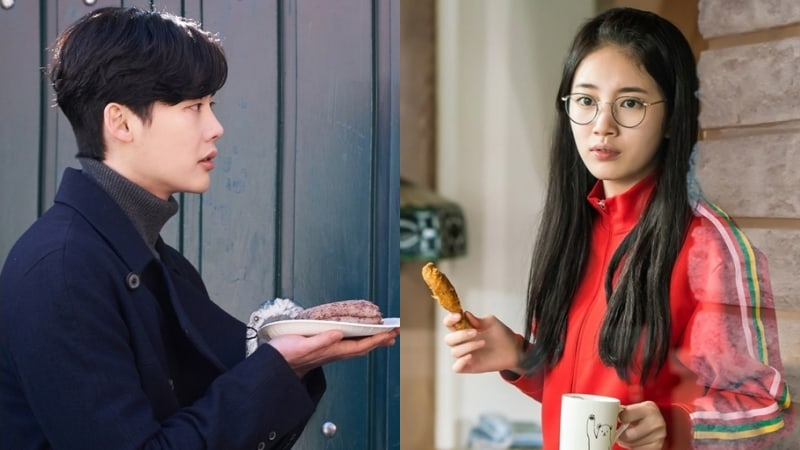 """""""While You Were Sleeping"""" Previews Suzy And Lee Jong Suk's First Meeting In New Stills"""