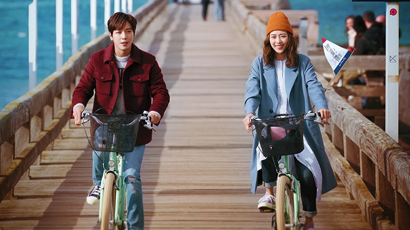 "Jung Yong Hwa And Lee Yeon Hee Evoke Feelings Of Wanderlust In 1st Poster For ""The Package"""