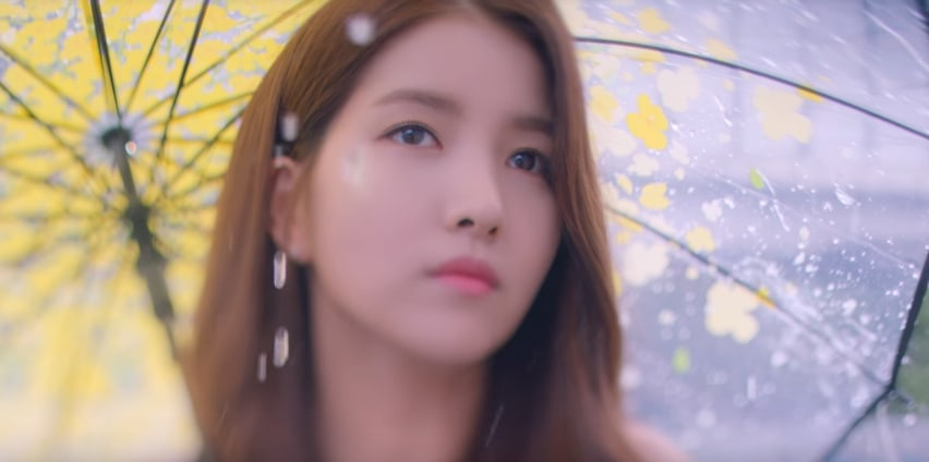 "Watch: GFRIEND Compares Love To ""Summer Rain"" In Sentimental MV"