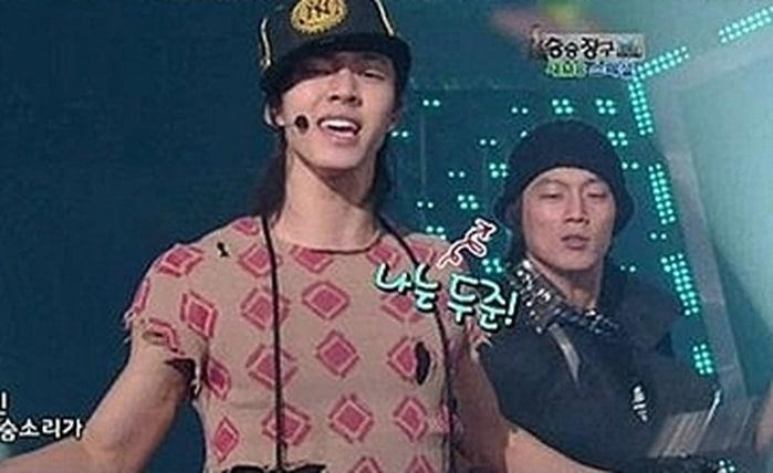 Image result for Yoseob, Doojoon backup dancer