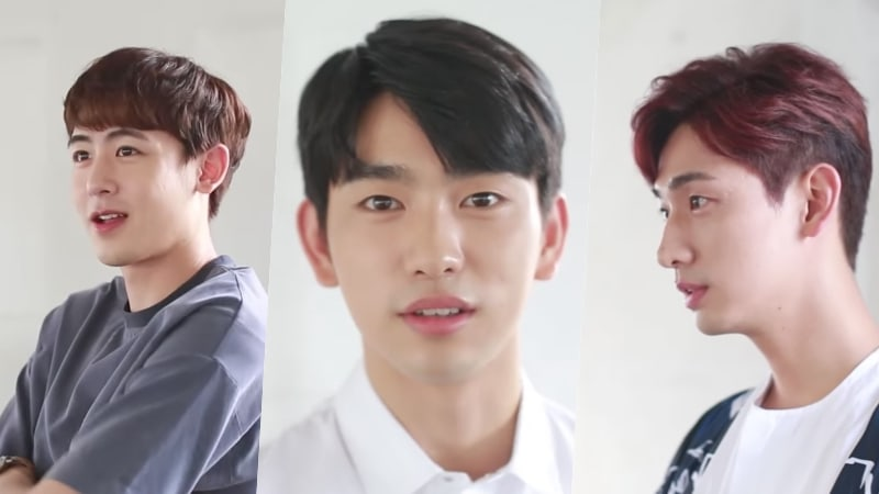 Watch: GOT7s Jinyoung, 2PMs Nichkhun, Yoon Park, And More Pose For Magic School Poster