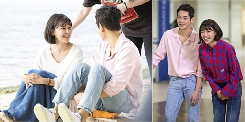 Man Who Sets The Table Shares Behind-The-Scenes Stills Of Girls Generations Sooyoung and On Joo Wan