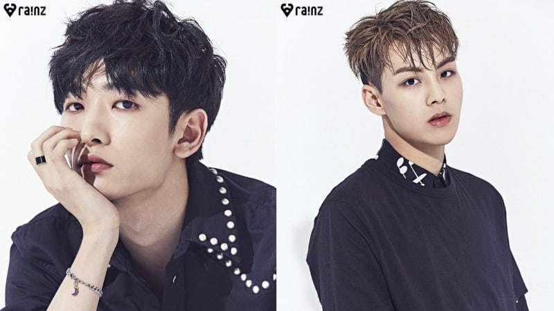 "Update: ""Produce 101 Season 2"" Project Group RAINZ Shares More Striking Profile Photos"