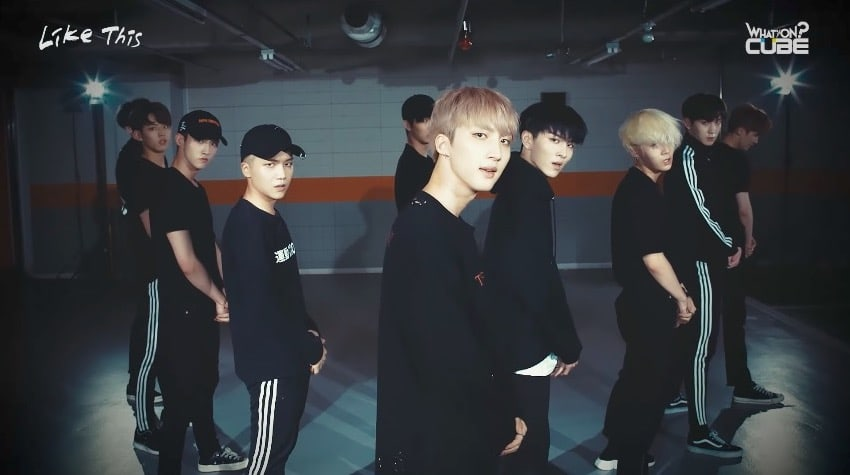 Watch: PENTAGON Releases Mesmerizing Eye Contact Version Of Practice Video For Like This