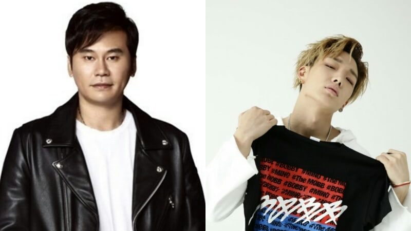 "Yang Hyun Suk Shows Support For Bobby's New Album ""Love And Fall"""