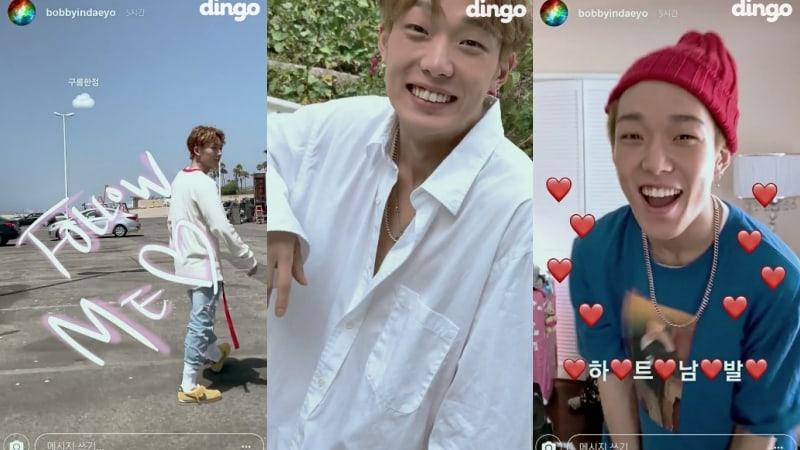 "Watch: iKON's Bobby Is An Adorable Boyfriend In Surprise, Social Media-Themed MV For ""Firework"""