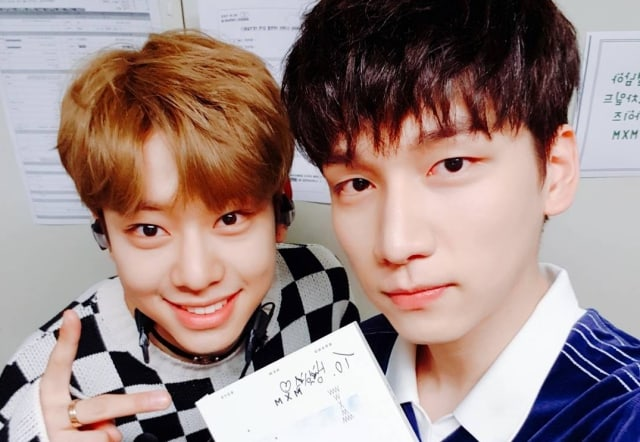 VIXX's Hyuk Supports MXM's Kim Dong Hyun And Shares How They Know Each Other
