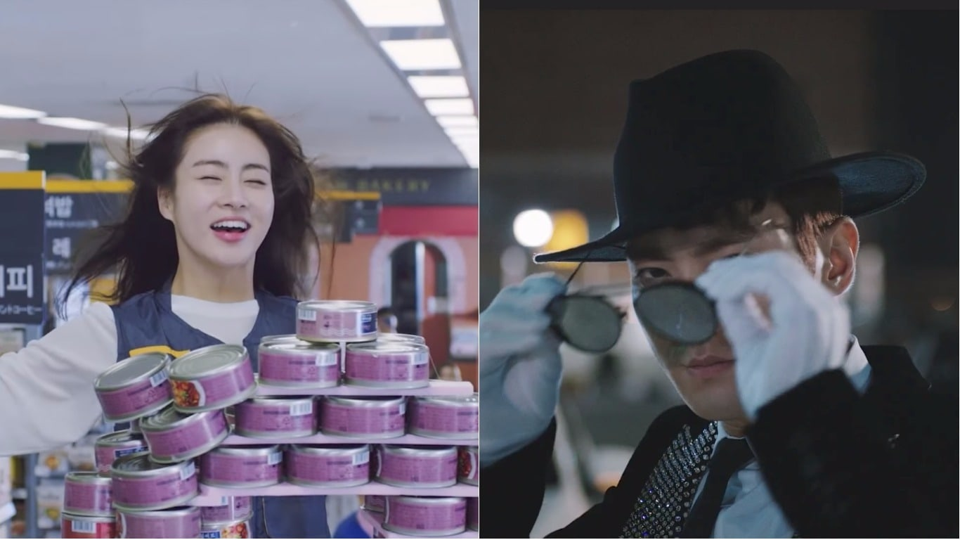 Watch: Kang Sora Is The Queen Of Part-Time Jobs While Choi Siwon Busts A Move In Drama Preview
