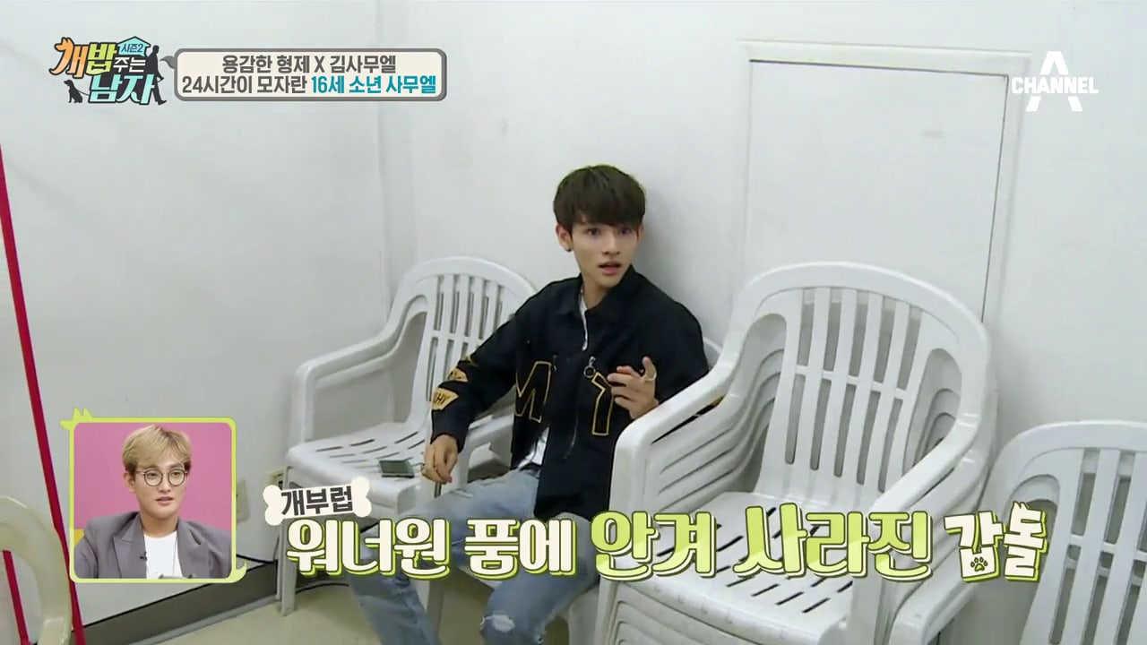 Watch: Wanna One Members Help Samuel Dog-Sit | Soompi