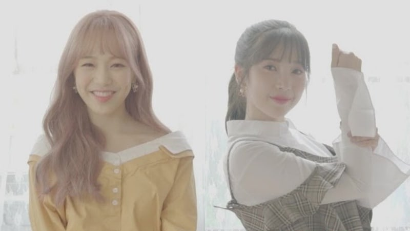 """Update: APRIL Reveals Rachel and Chaekyung's Moving Posters For Upcoming Album """"Eternity"""""""