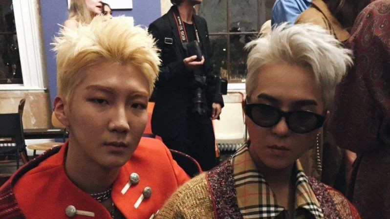"Vogue Says WINNER's Lee Seung Hoon And Song Mino ""Won Burberry's Front Row"" At London Fashion Show"
