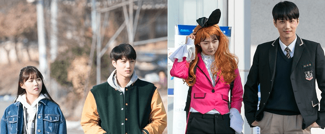 Andante Releases Amusing New Stills Of EXOs Kai With His Onscreen Sister Lee Ye Hyun