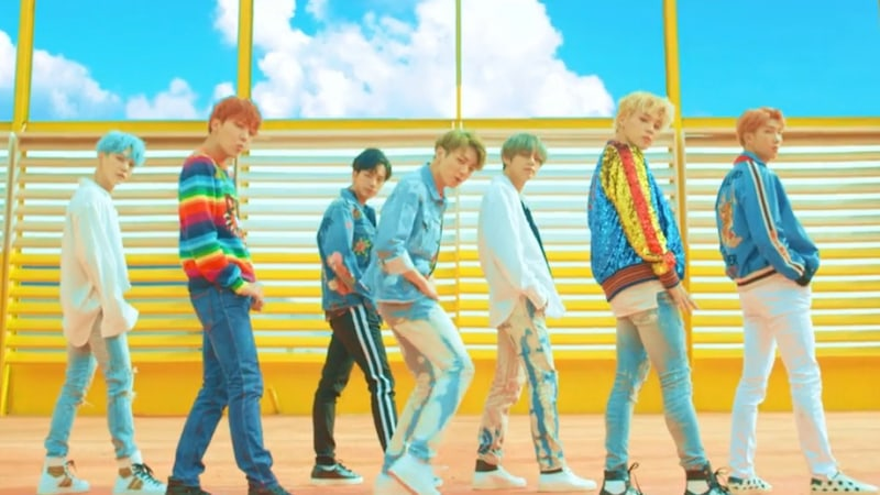 "Watch: BTS Makes Long-Awaited Return With ""DNA"""