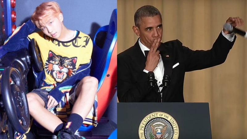 BTS's Rap Monster Reveals New Track Was Inspired By Barack Obama's Mic Drop