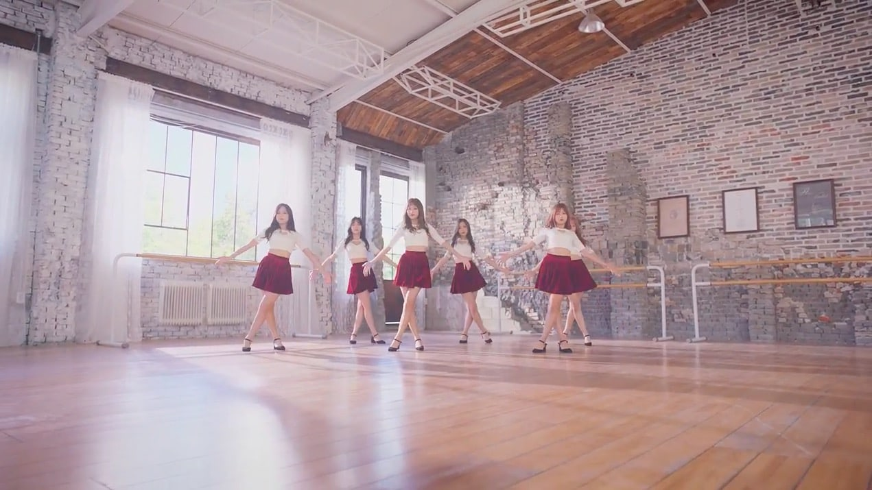 Update: APRIL Dances Gracefully In Preview Of Choreography For Comeback Track