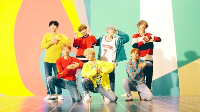 """BTS's """"DNA"""" Becomes Fastest K-Pop Group MV To Hit 10 Million Views"""