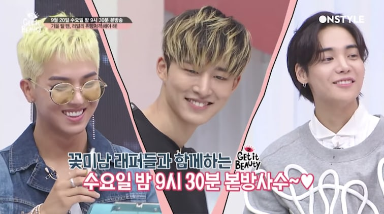 """Watch: iKON's B.I., WINNER's Song Mino, And ONE Become Makeup Artists On """"Get It Beauty"""""""