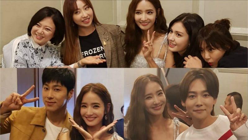 TVXQ's Yunho, WINNER's Kim Jin Woo, Unnies, And More Reunite To Support Han Chae Young