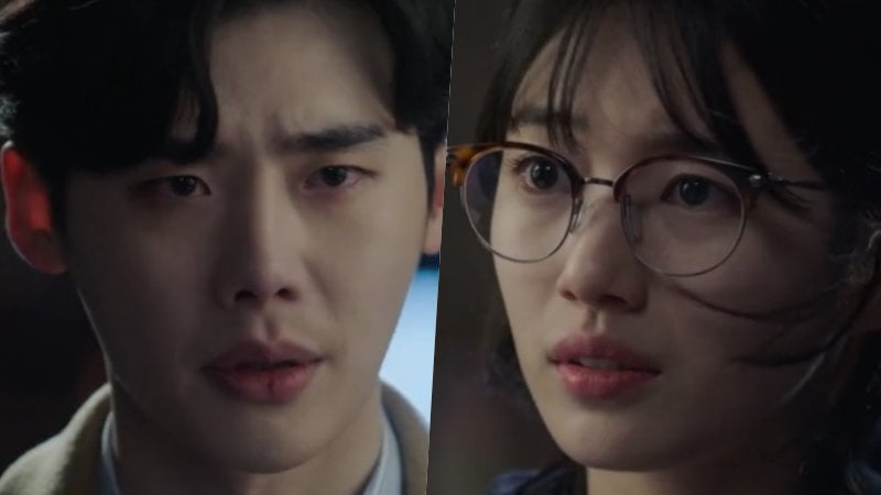 "Watch: Lee Jong Suk And Suzy Join Forces To Fight Tragedy In New ""While You Were Sleeping"" Trailer"