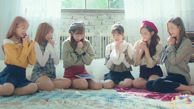 """Watch: APRIL Says """"Take My Hand"""" In MV For Comeback Title Track"""