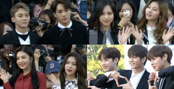 EXO TWICE Red Velvet Wanna One