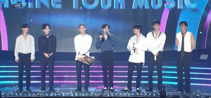 EXO Takes Home Daesang At 1st Soribada Best K-Music Awards