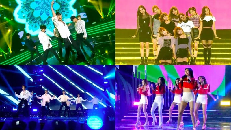 Performances From 1st Soribada Best K-Music Awards