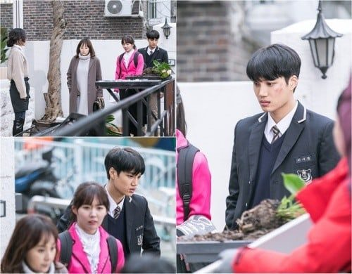 Andante Reveals Stills Of EXOs Kai And Onscreen Family In Disorder