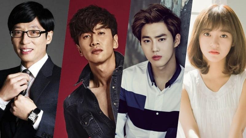Yoo Jae Suk, Lee Kwang Soo, EXOs Suho, gugudans Kim Sejeong, And More To Join Netflix Variety Show