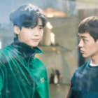 """Lee Jong Suk And Shin Jae Ha Show Some Brotherly Love In New Stills For """"While You Were Sleeping"""""""