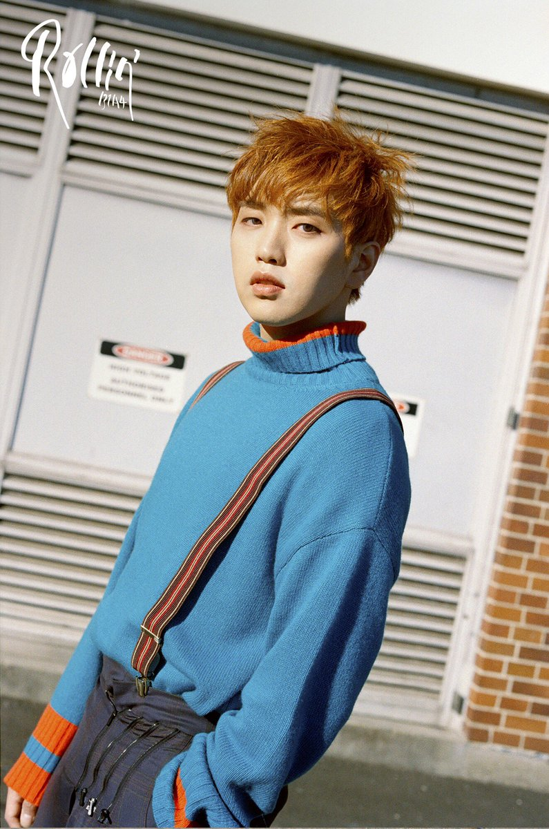 """Update: B1A4 Shares New """"Blue Version"""" Concept Teasers For ... B1a4 Sandeul And Baro"""