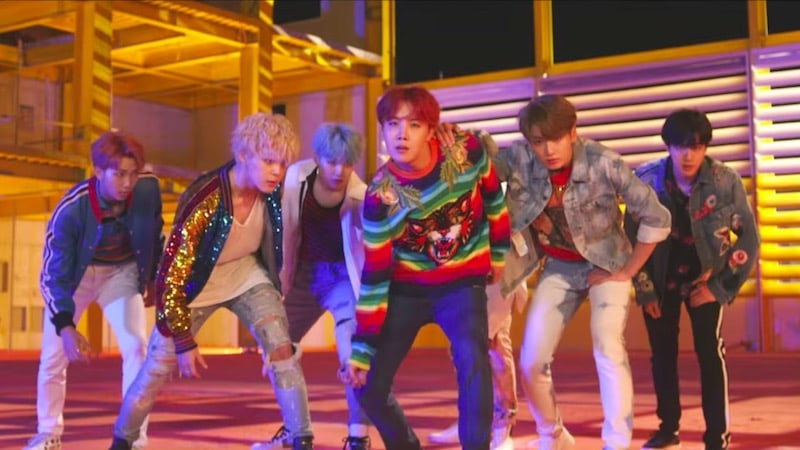 "BTS's ""DNA"" MV Hits 40 Million Views In Record Time For K-Pop Groups"