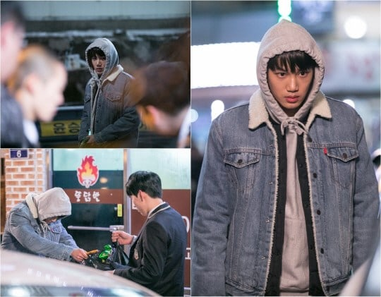 EXOs Kai Runs Into Trouble In Stills From Upcoming Drama