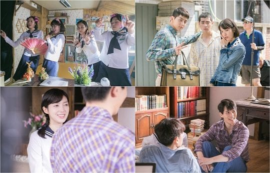 "Cast Of ""Girls' Generation 1979"" Fool Around On Set In Behind-The-Scenes Stills"