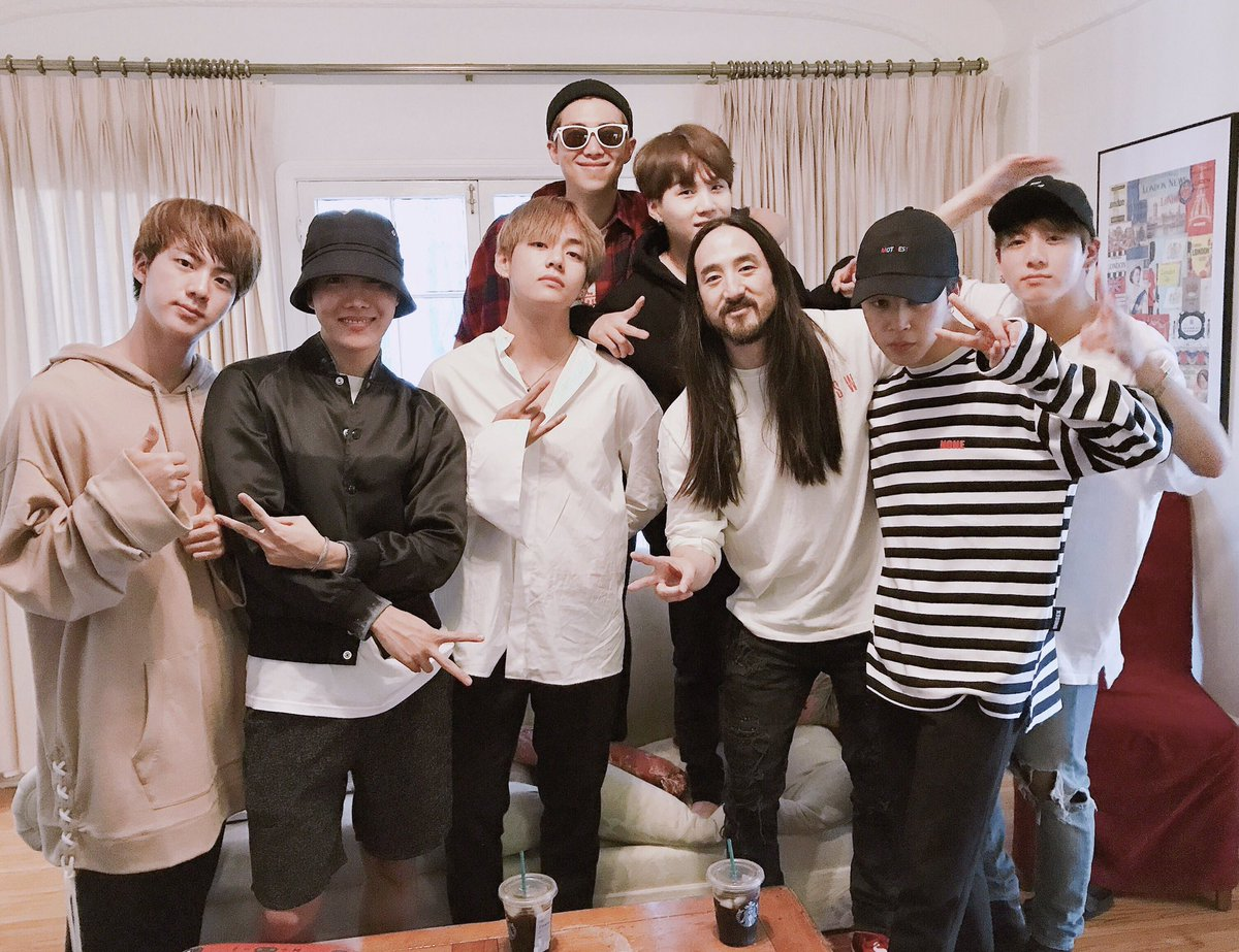 BTS And Steve Aoki Announce News Of Collaboration Coming Very Soon