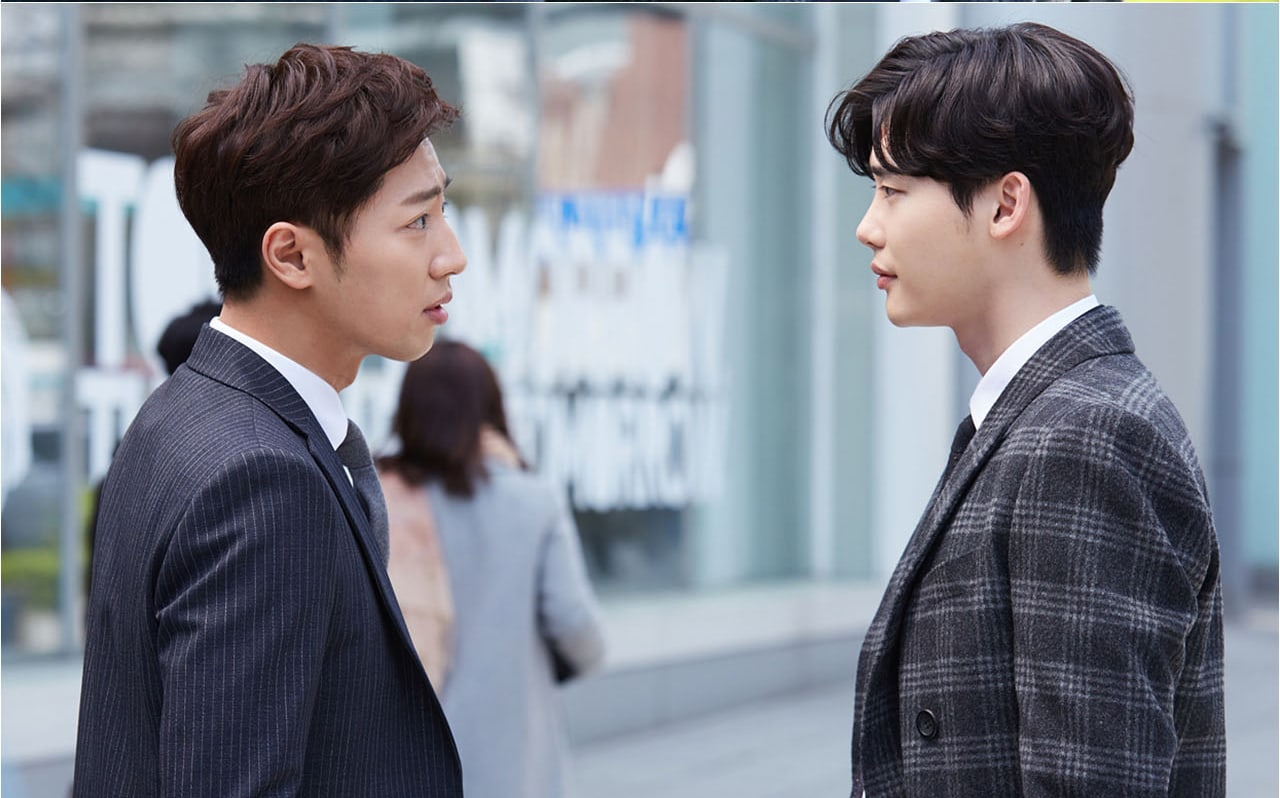 """""""While You Were Sleeping"""" Drops Hints About Lee Jong Suk And Lee Sang Yeob's Tense Relationship"""