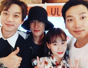 Hwang Chi Yeol San E Jo Hyun Ah Rain