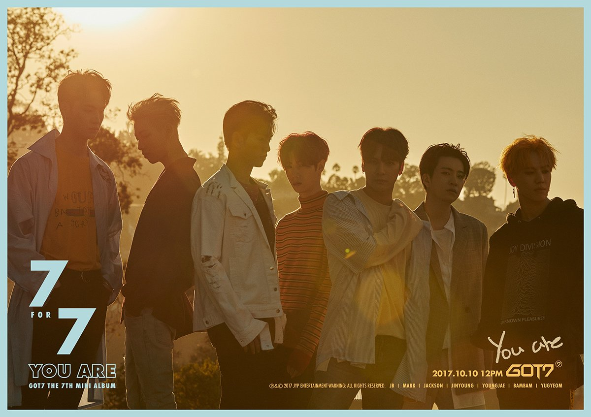 GOT7 : You Are MV + 7 for 7 Album Download