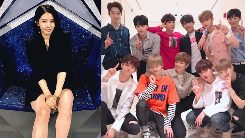 BoA Shares Surprise Presents She Received From Wanna One