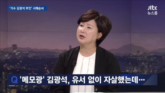 Kim Kwang Seok's Family Responds To His Wife's Interview