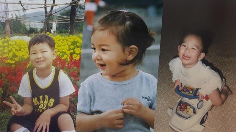 Resultado de imagen para kpop idols baby pictures